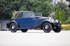 1925 Rolls-Royce 20hp Sedanca Coupé  Registration no. not UK registered  Chassis no. GPK70