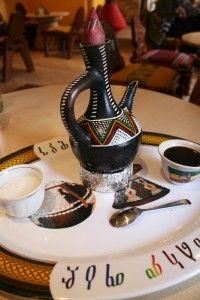 Authentic Ethiopian coffee.  Did you know that coffee originates from Ethiopia?