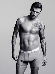 #DavidBeckham wore briefs for the 2012 ads supporting his #H&M; Bodywear collection.