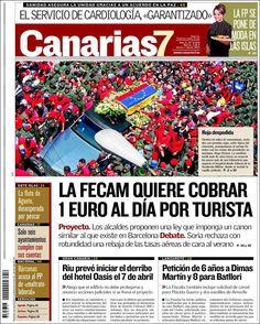 PORTADAS DEL 7 DE MARZO 2013