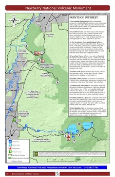 Newberry National Volcanic Monument - Maplets