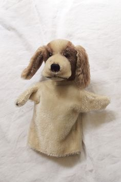 Steiff Hand Puppet by Makie - love this for my nieces!