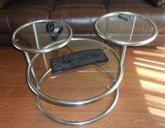 Keeping for now-- 3 Tier Bauman Swivel Coffee Table