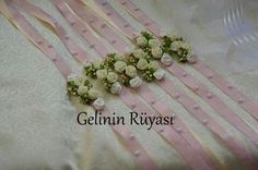 Nedime Bileklikleri www.gelininruyasi.net Wedding Boutonniere, Corsage Wedding, Girls Dresses, Flower Girl Dresses, Party Ideas, Wedding Ideas, Bridal, Wedding Dresses, Unique