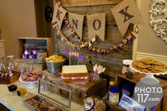 PB&J_Peanut Butter Dessert Table