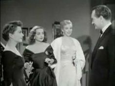 """""""All About Eve,"""" Bette Davis, Anne Baxter, Celeste Holm, Gary Merrill, Marilyn Monroe, George Sanders, and Thelma Ritter, who always steals the show"""