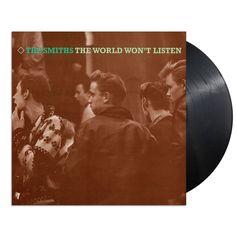 The Smiths - World Won't Listen Remastered Vinyl 2xLP Black 180 Gram Sealed New #Alternative
