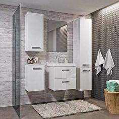 Półsłupek Mirano Vika 30 cm biały - Półsłupki - Castorama Bathroom Lighting, 30th, Vanity, Mirror, Furniture, Home Decor, Bathroom Light Fittings, Dressing Tables, Bathroom Vanity Lighting