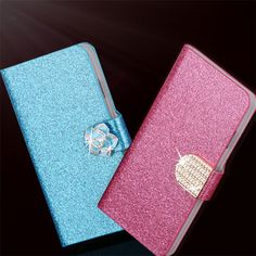 Hot Diamond Flash Capa Cover For Apple Iphone 4S Case Flip PU Leather Book Protector For Iphone 4 4S Coque Fundas