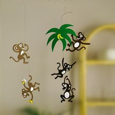 Monkeys in Trees Mobile-product