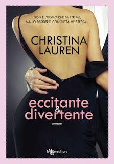 """Leggere Romanticamente e Fantasy: Recensione """"Eccitante e Divertente"""" di Christina L..."""