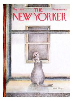 The New Yorker Cover - May 12, 1973 Regular Giclee Print par Andre Francois sur AllPosters.fr