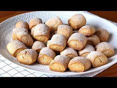 ¡Para el té o café! Galletas de leche muy ricas y fáciles de hacer - YouTube Brownie Cookies, Cookie Bars, Healthy Appetizers, Galette, Easy Snacks, Sin Gluten, Sweet Bread, Flan, Yummy Food