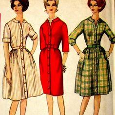60s Shirt Dress.