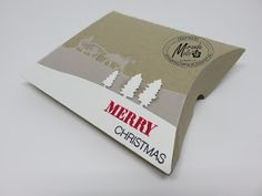 Stampin Utopia Bestel Stampin' Up! Hier. Sleigh Ride Thinlits, pillow box, christmas giftwrapping