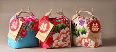 Gifting rice for weddings is so grand and pretty in Taiwan. 花樣的婚禮祝福 掌生囍米/喜米