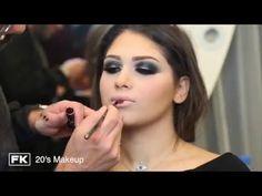 ec322c2fbf1b7 Fady Kataya - 20 s makeup   فادي قطايا - مكياج العشرينات