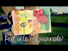 Peek Into My Art Journals & Get Ready for Spring! - YouTube