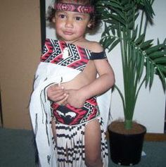 Maori boy, how cute