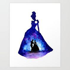 Ariel and Eric - The Little Mermaid Double Exposure Art Print by ahmadillustrations Disney Canvas Paintings, Paintings I Love, Images Disney, Disney Art, Art Drawings Sketches Simple, Cool Drawings, Disney Doodles, Collage Des Photos, Pinturas Disney