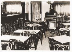 Home Run Inn's original dining room- circa 1947 to 1971.