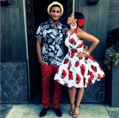 Corey Hardrict and Tia Mowry Hardrict attended a Havana Nights theme party. They look adorable Havana Nights Party Theme, Havana Party, Havanna Nights Party, Havana Nights Dress, Cuba Fashion, Mexico Fashion, Cuban Party, Latin Party, Essence Festival
