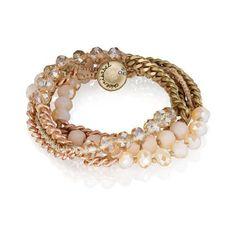 Rose Opal Multi-Wrap Bracelet