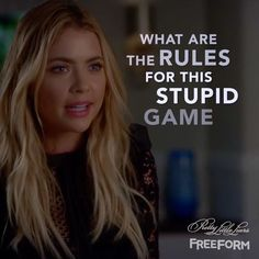 "69.4k Likes, 173 Comments - Pretty Little Liars (@prettylittleliars) on Instagram: ""No rules, no room for failure. #PLLEndGame #PrettyLittleLiars"""