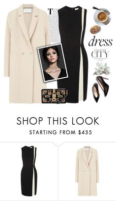 """""""On Trend: Two-Tone Dresses"""" by mcheffer ❤ liked on Polyvore featuring Etro, Harris Wharf London, Dolce&Gabbana, M. Gemi and twotonedress"""