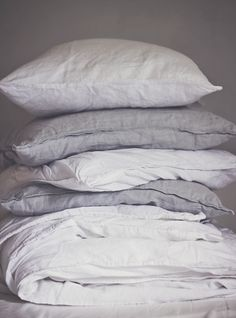 Love linen bedding