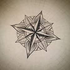 Image result for mandala compass tattoo