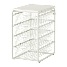 ALGOT Frame with 4 wire baskets/top shelf   - IKEA -  kid's closet for their clothes