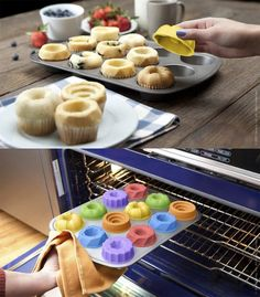 Bake Shapes - muffin toppers so cool!!! gimmme gimmme