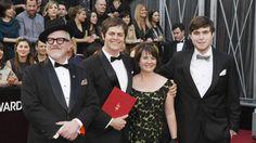 From left to right - Oscar winner Bill Joyce, Oscar winner Brandon Oldenburg, Shannon Oldenburg, and Jack Joyce.