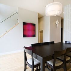contemporary dining room by Fifth Element Homes Fifth Element, Tree Patterns, Of Wallpaper, Contemporary, Dining Room, Homes, Fan, Life, Ideas