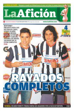 Portada La Afición Monterrey 08/06/14 | RAYADOS COMPLETOS