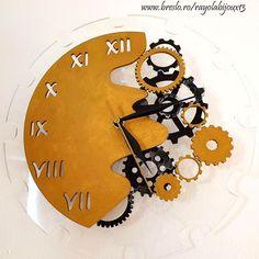Birthday Cake, Clock, Home Decor, Bijoux, Watch, Birthday Cakes, Decoration Home, Room Decor, Clocks