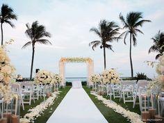 breakers palm beach, fl - ocean terrace wedding