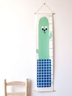 Height Chart - Cactus