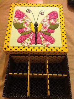 Borboleta patchwork