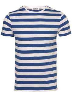 Topman blue and white stripe t-shirt £14