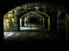 The Catacombs of the Christians? Persecution made them take abode and worship in such darkened chambers