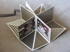 Fold Up scrap album