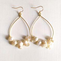 Beads&Wires Handmade earrings & Bijoux Gli orecchini Beads&Wires nascono da un piccolo disegno su carta, da un' idea improvvisa o da un ricor