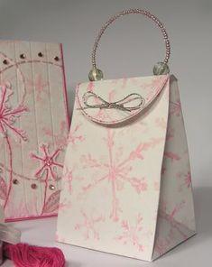 Tall Purse Box: Template & Printable Patterns - Splitcoaststampers