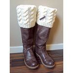 Knitted Boot Cuffs - For Kessa