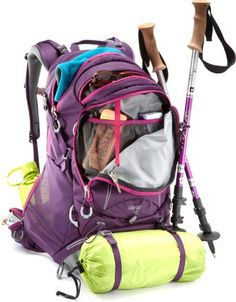 REI Lookout 40 Pack - Women\'s love this backpack. I can easily pack for a week in CA in it and it fits in the overhead compartment of the plane, so I don't have to check it! It's also super comfortable
