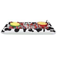 Cow Print Buffet Cooler (6ct)