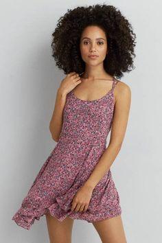 AEO Tiered Babydoll Dress by AEO - A summer essential with a flowy ...