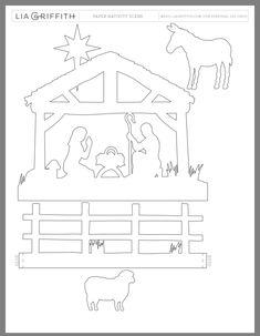 Pin on Christmas decor Christmas Nativity Set, Christmas Wood Crafts, Christmas Paper, Red Christmas, Holiday Crafts, Christmas Time, Christmas Decorations, Christmas Stencils, Christmas Templates